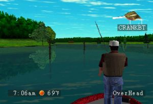 Black Bass With Blue Marlin PlayStation Screen Capture