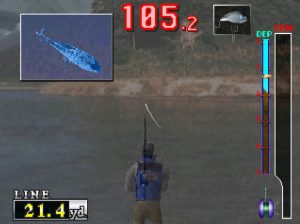 Fishermans Bait a bass challenge Playstation Screen Capture