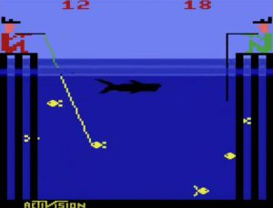 Fishing Derby Atari 2600 Screen Capture