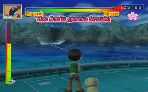 Fishing Master Wii Screen Capture