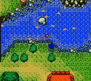 Legend Of River King Gameboy Color Screen Capture