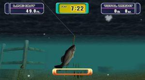 Mark Davis Pro Bass Challenge Nintendo Gamecube Screen Capture