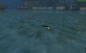 Rapala Pro Bass Fishing Playstation Portable Screen Capture