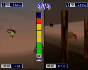 SEGA Bass Fishing Duel Playstation 2 Screen Capture