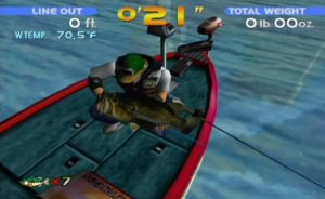 Sega Bass Fishing Dreamcast Screen Capture