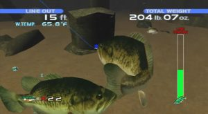 SEGA Bass Fishing Playstation 3 Screen Capture