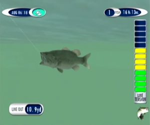 SEGA Bass FIshing 2 Dreamcast Screen Capture