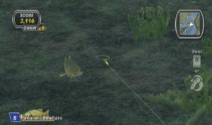 Shimano Xtreme Fishing Wii Screen Capture
