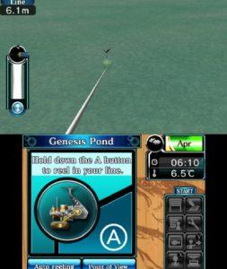 Super Black Bass 3D Nintendo 3DS Screen Capture