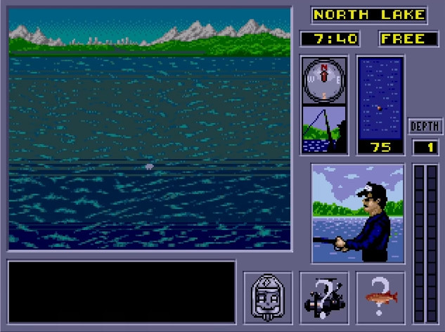 Genesis Fishing Games List - FGindex