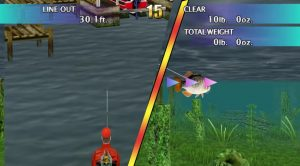 Top Angler Real Bass Fishing Gamecube Screen Capture