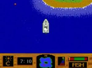 Zebco Fishing Gameboy Color Screen Capture