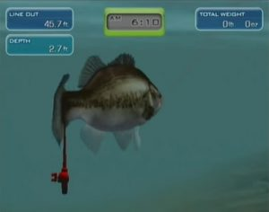 Hooked Real Motion Fishing Wii Screen Capture