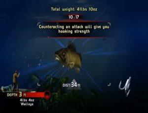 Rapala Pro Bass Fishing Xbox 360 Screen Capture