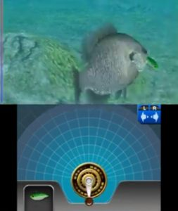 Reel Fishing 3D Paradise Nintendo 3DS Screen Capture